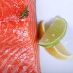 Fresh salmon — Stock Photo #19696371