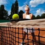 Sporty woman — Stock Photo #21639749