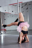 Pole-dance — Stock Photo