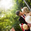 Bride and groom — Stock Photo #7582852
