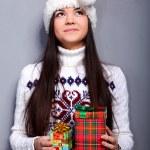 Christmass girl — Stock Photo #9883887
