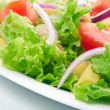 Salad background — Stock Photo #12177591