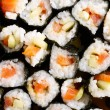 Stock Photo: Japanese sushi background