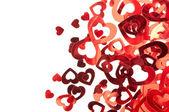 Valentijn harten achtergrond — Stockfoto