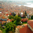 Dalmatian coast from the city of Rovinj , Croatia — Stock Photo