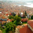 Dalmatian coast from the city of Rovinj , Croatia - Stock Photo