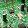 Assembling a circuit board — Stock Photo #16333711