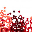 Stock Photo: Valentine hearts background