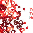Valentine hearts background  — Stock Photo #16333879