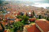 Dalmatian coast from the city of Rovinj , Croatia — Foto de Stock
