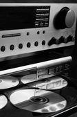 Sistema de audio de alta gama — Foto de Stock
