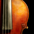 Part of vintage violin — Stock Photo #1863304