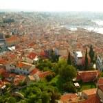 Roofs of old town. Rovinj, Croatia — Stock Photo