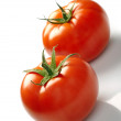 Two tomatoes — Stock Photo #18666765