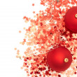 Christmas balls and decorations - Stockfoto
