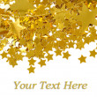 Golden stars - Stockfoto