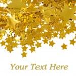 Złote gwiazdy — Zdjęcie stockowe