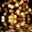 Gold spots bokeh background — Stock Photo #18667003