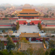 Forbidden city. Beijing, China - Stock Photo
