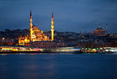 New Mosque (Yeni Cami). Istanbul, Turkey — Stock Photo