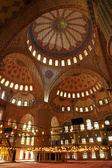 Modrá mešita. istanbul, turecko — Stock fotografie