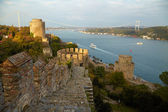 Fortress Rumelihisar. Istanbul, Turkey — Stock Photo