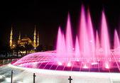 Sultan-ahmed-moschee (blaue moschee), istanbul, türkei — Stockfoto