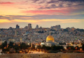 View to Jerusalem old city. Israel — Stock Photo