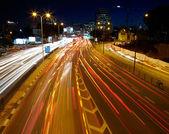 Embouteillage de nuit — Photo