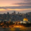 View to Jerusalem old city. Israel — Stock Photo #19569473