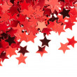 Red stars isolated on white background — Stock Photo #19569879