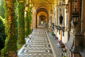 Mirogoj cemetery. Zagreb, Croatia — Stock Photo