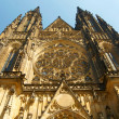 Great Roman Catholic church in Prague — Stock Photo