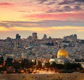 Ve a la ciudad vieja de jerusalén. israel — Foto de Stock