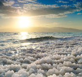 Sunrise at Dead Sea, Israel. — Foto de Stock