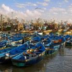 Fishing port. Essaouira, Morocco — Stock Photo