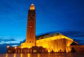 Hassan II Mosque in Casablanca, Morocco Africa — Stock Photo