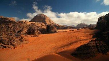 Wadi rums öken, jordan — Stockvideo