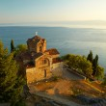 Church of St. John at Kaneo. Ohrid, Macedonia — Stock Photo