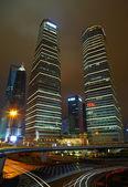 Shanghai lujiazui finance and trade zone skyline. — Stock Photo
