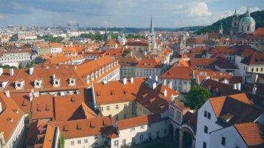 Beautiful cityscape of Prague. Czech republic — Stock Video