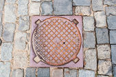 Manhole — Stock Photo