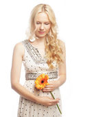 Hamile bayan gerber — Stok fotoğraf