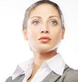 Business woman close up — Stock Photo