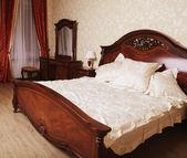 Classic style modern bedroom interior — Stock Photo