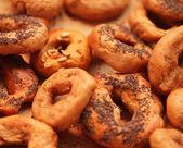 Tasty bagels — Stock Photo