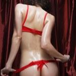 Сексуальные Попки девушек в нижнем белье — Стоковое фото
