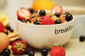 Goed ontbijt — Stockfoto