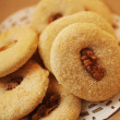 Foto Stock: Crispy cookies