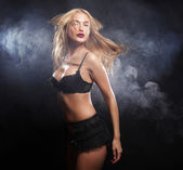 Sexy striptérka — Stock fotografie
